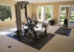 workout room remodeling
