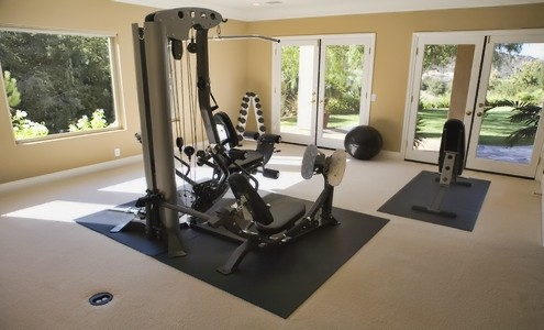 workout room remodeling