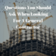 What to Ask a General Contractor